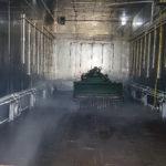 Испытания на соляной туман, дождь, температуру и влажность 250 куб м